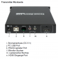 Preview: Serie-131 Hybrid-HDMI-Extender-Transmitter mit USB 2.0, Audio (1920x1200) bis 100 m, UNICLASS HX-131TX