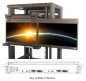 "Preview: Dual-Monitor 1080p 17,3"" Flip-Down FHD LCD Display Schublade, ANNSO RMD-17W-D2-U"