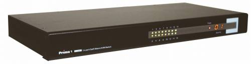 16-Port IP-Remote Dual-Console CAT5 KVM-Switch mit OSD, UNICLASS PMC-0116i