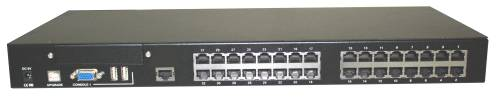 32-Port Dual Console CAT5 KVM-Switch mit OSD, UNICLASS PMC-0132