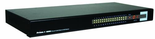 32-Port 2-Konsolen Matrix CAT5 KVM-Switch mit OSD, UNICLASS PMC-0232