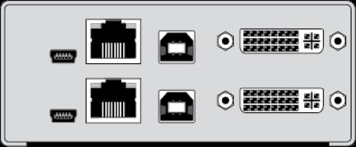 dual-monitor dvi usb kvm-extender