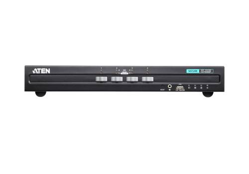 Aten CS1184DP - 4-Port USB DisplayPort Secure KVM-Switch (PSS PP v3.0) ohne Kabel