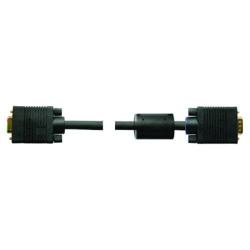 15-Polig, 5m InLine 17745B S-VGA Verl/ängerungs Kabel schwarz