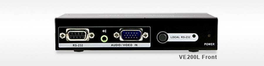 Aten VE200 Audio/Video Extender System with IR Remote Control