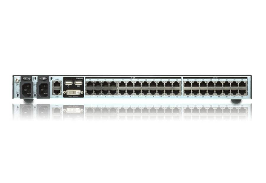 Aten KN2140VA 3-User 40-Port KVM Over the NET 1 Lokal / 2 Remote User an bis zu 40 Server